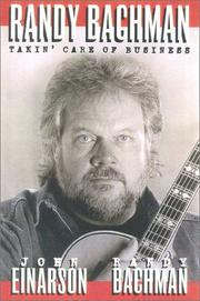 Cover of: Randy Bachman | John Einarson