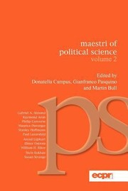 Cover of: Maestri Of Political Science