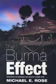 Cover of: The Burma Effect
