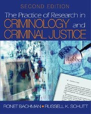 Cover of: The Practice of Research in Criminology and Criminal Justice With CDROM