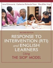 Cover of: Response To Intervention Rti And English Learners Using The Siop Model