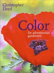 Cover of: Color for adventurous gardeners