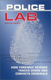 Cover of: Police lab