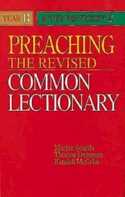Cover of: Preaching the Revised Common Lectionary Year B After Pentecost 2
