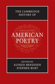 Cover of: The Cambridge History Of American Poetry