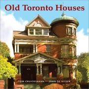 Cover of: Old Toronto houses