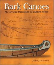 Cover of: Bark Canoes
