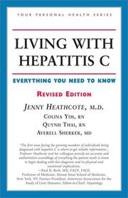 Cover of: Living with hepatitis C