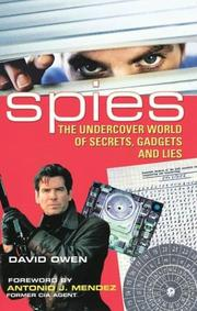 Cover of: Spies