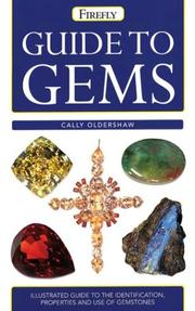 Cover of: Firefly guide to gems