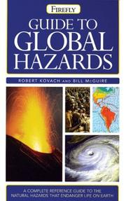Cover of: Firefly guide to global hazards | Robert L. Kovach