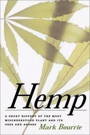 Hemp by Mark Bourrie