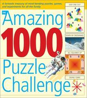 Cover of: The Amazing 1000 Puzzle Challenge