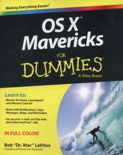 Cover of: Os X Mavericks For Dummies