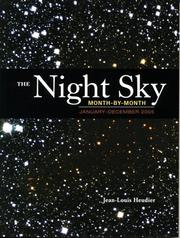 Cover of: The Night Sky Month by Month | Jean-Louis Heudier