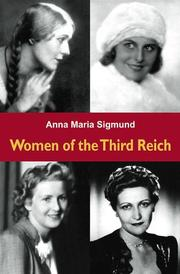 Cover of: Women of the Third Reich