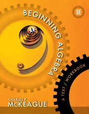 Cover of: Beginning Algebra A Textworkbook