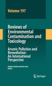 Cover of: Arsenic Pollution And Remediation An International Perspective