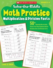 Cover of: Solvetheriddle Math Practice