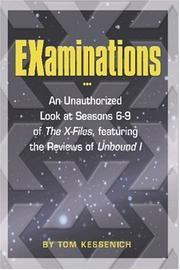 Cover of: EXaminations