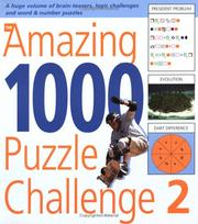 Cover of: The Amazing 1000 Puzzle Challenge 2
