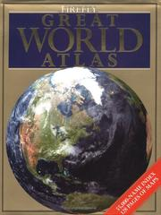 Cover of: Firefly Great World Atlas | Royal Geographical Society
