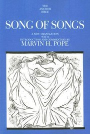 Cover of: Song Of Songs A New Translation With Introduction And Commentary