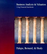 Cover of: Busniess Analysis and Valuation Using Financial Statements