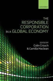 Cover of: The Responsible Corporation In A Global Economy |