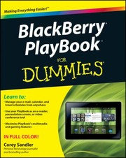 Cover of: Blackberry Playbook For Dummies |