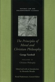Cover of: The Principles of Moral and Christian Philosophy Vol 2 PB