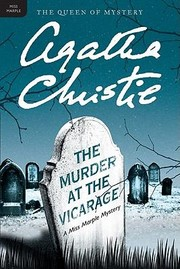 Cover of: The Murder At The Vicarage A Miss Marple Mystery
