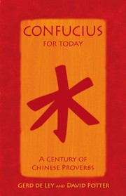Cover of: Confucius for Today