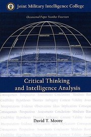 Cover of: Critical Thinking and Intelligence Analysis