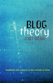 Cover of: Blog Theory