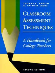 Cover of: Classroom assessment techniques