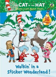 Cover of: Walkin in a Sticker Wonderland Dr SeussCat in the Hat