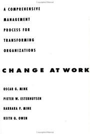 Cover of: Change at Work | Pieter W. Esterhuysen