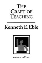 Cover of: The Craft of Teaching
