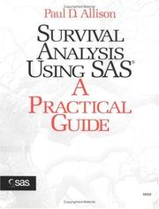 Cover of: Survival analysis using the SAS system by Paul David Allison