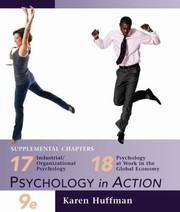 Cover of: Chapters 17 and 18 of Psychology in Action