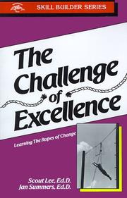 Cover of: Challenge of Excellence
