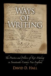 Cover of: Ways of Writing