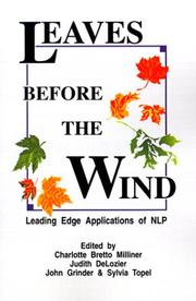 Cover of: Leaves before the wind