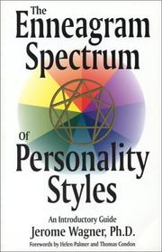 Cover of: The enneagram spectrum of personality styles
