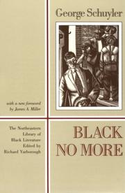 Cover of: Black no more