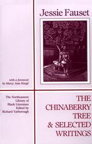Cover of: The chinaberry tree