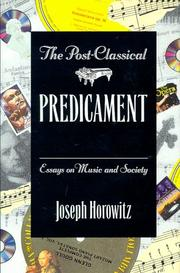 Cover of: The post-classical predicament