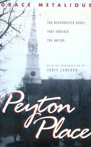 Cover of: Peyton Place