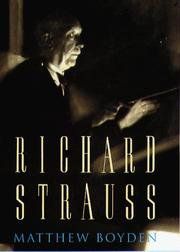 Cover of: Richard Strauss